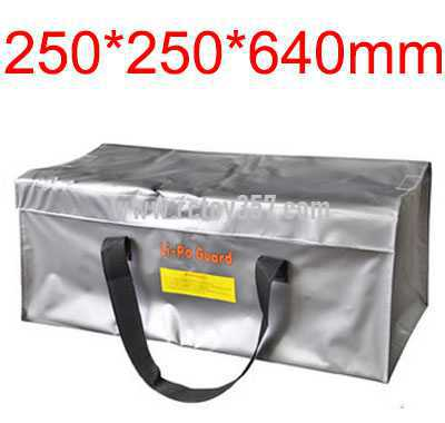 250*250*640mm Oversized Battery explosion-proof bag lithium battery storage bag