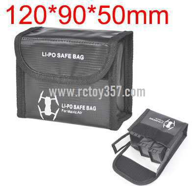 120*90*50mm Battery explosion-proof bag lithium battery storage bag