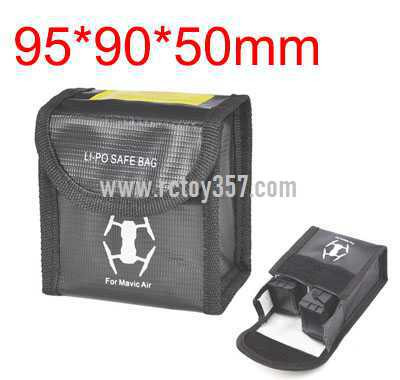 95*90*50mm Battery explosion-proof bag lithium battery storage bag
