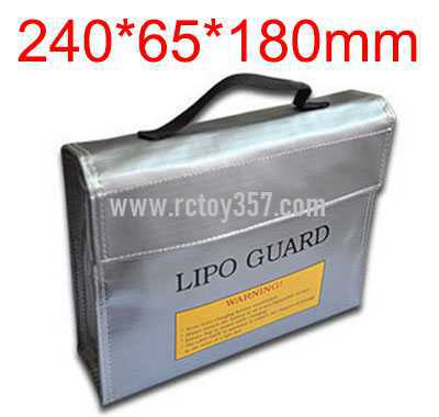 240*65*180mm Bag Lithium battery explosion-proof bag for multi-function