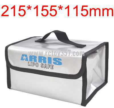 215*155*115mm Lithium battery explosion-proof bag for multi-function