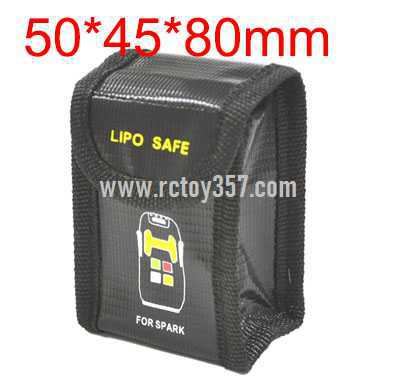 50*45*80mm Lithium battery explosion-proof bag for multi-function