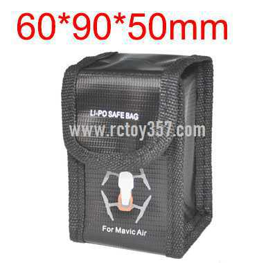 60*90*50mm Battery explosion-proof bag lithium battery storage bag