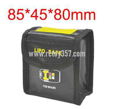 85*45*80mm Lithium battery explosion-proof bag for multi-function