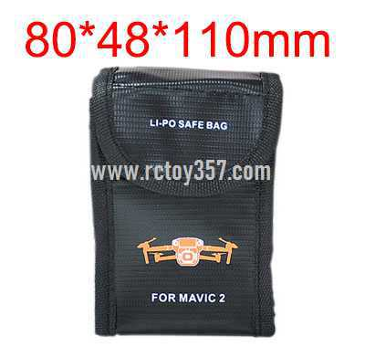 80*48*110mm Battery explosion-proof bag lithium battery storage bag
