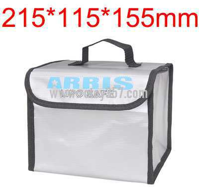 215*115*155mm Battery explosion-proof bag lithium battery storage bag