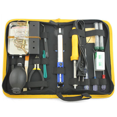 17-in-1 60W Soldering iron kit set (Suitable for circuit board welding, etc.)