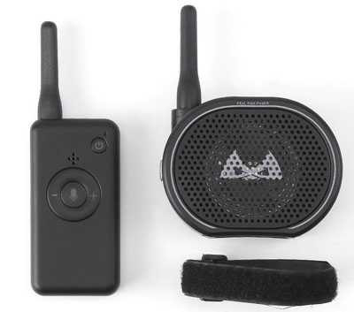 Universal drone Piggyback Walkie talkie (Excluding aircraft) Suitable for Drone/Remote control car etc.