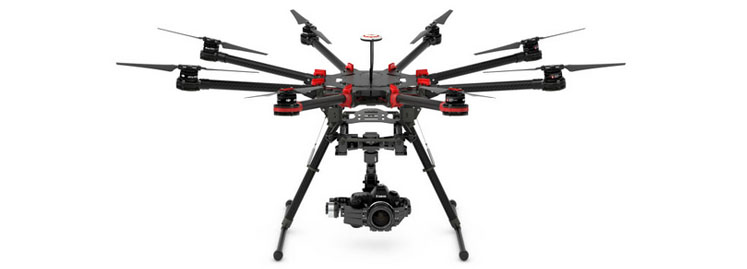 DJI Industrial Flying Platforms Spreading Wings S1000+