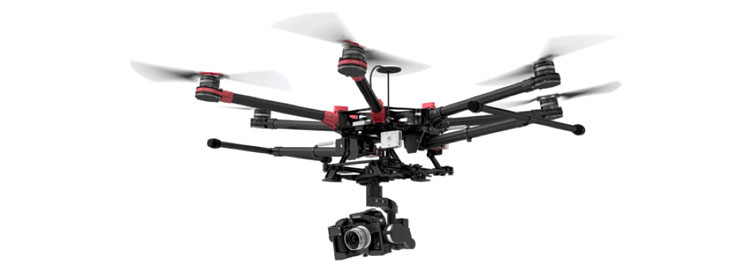 DJI Industrial Flying Platforms Spreading Wings S900