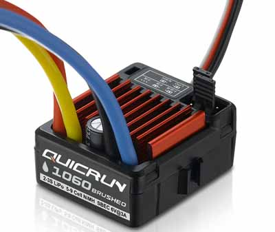 Hobbywing WP-1060 waterproof ESC brushed 60A ESC
