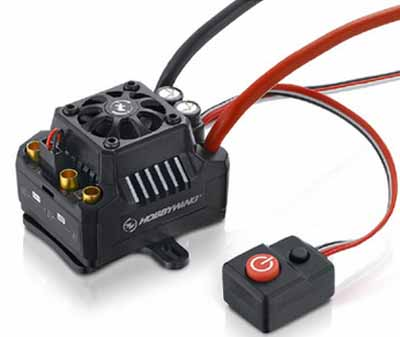 Hobbywing 120A EZRUN MAX10-SCT waterproof ESC supports 2-4S lithium battery