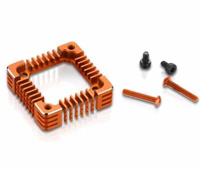 Hobbywing XR10 PRO G2 upgrade OP 3010 cooling fan adapter Orange