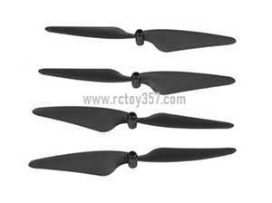 Plastic Drone Propeller Blade Accessories for UDI SYMA X22 X22W X21 X21W RC Aircraft Kits Pack of 20