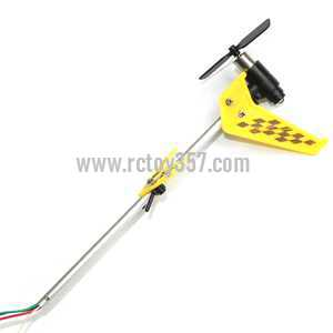 LH-1103 helicopter toy Parts Whole Tail Unit Module(Yellow)