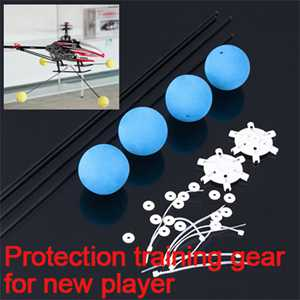 Protection training gear for new player (Use for RC helicopter longer than 30cm)