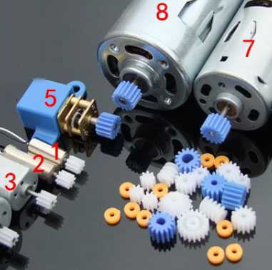 Motor gear for rc airplane helicopter Drone Quadcopter 4pcs