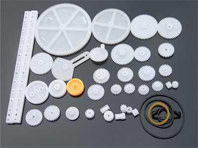 34 kinds of gear packages, toy model gears, racks, decelerations, worms, belt wheels, plastic gears