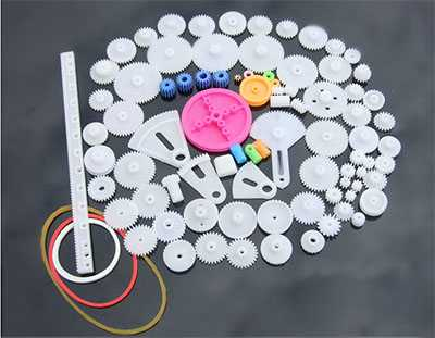 85 kinds of plastic gear packages, scientific and technological model production, gear rack, reduction gear box, 0.5 mold