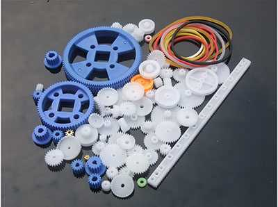 80 gear packages, gearbox plastic motor gear packages, robot accessories