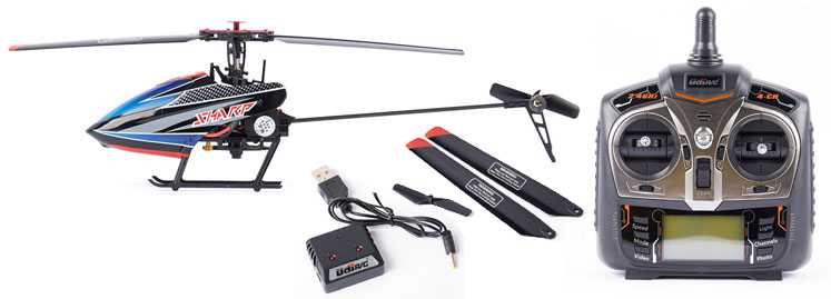 UDI D2 RC Helicopter spare parts