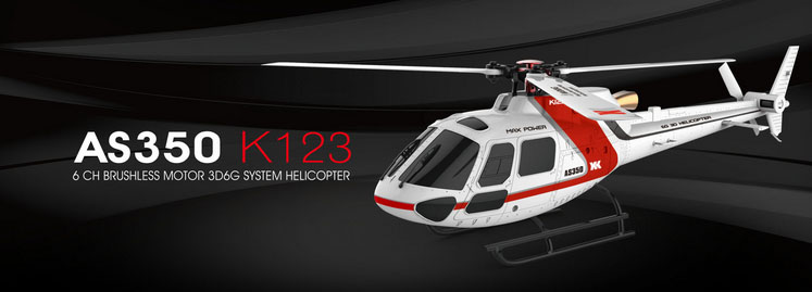 XK K123 RC Helicopter spare parts